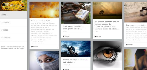 Unricordo.it - Aforismi - Citazioni - Poesie - realizzazione sito web